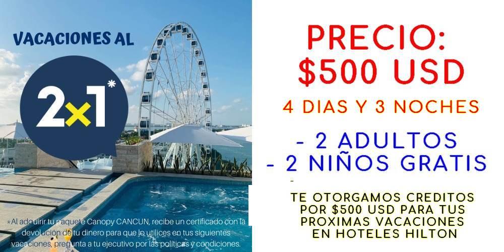 promocion viajes a cancun