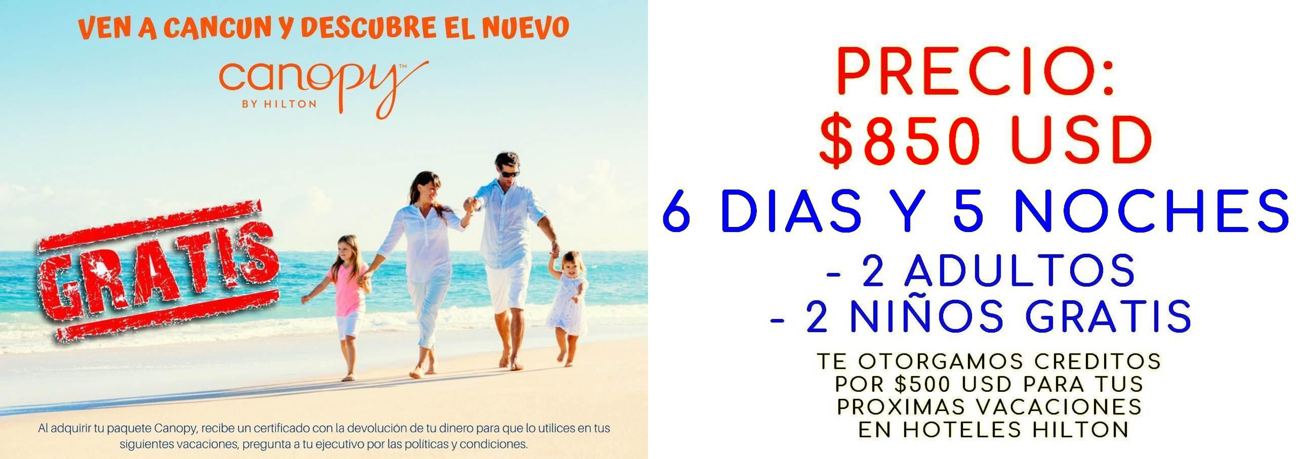 paquetes viajes a cancun