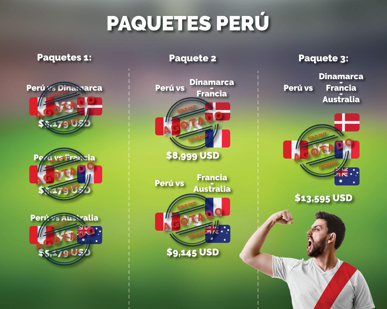 paquetes partidos colombia vs japon polonia sengal rusia 2018