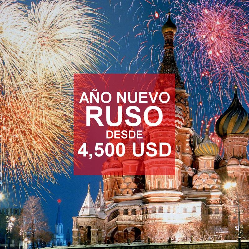 circuito viaje año nuevo ruso