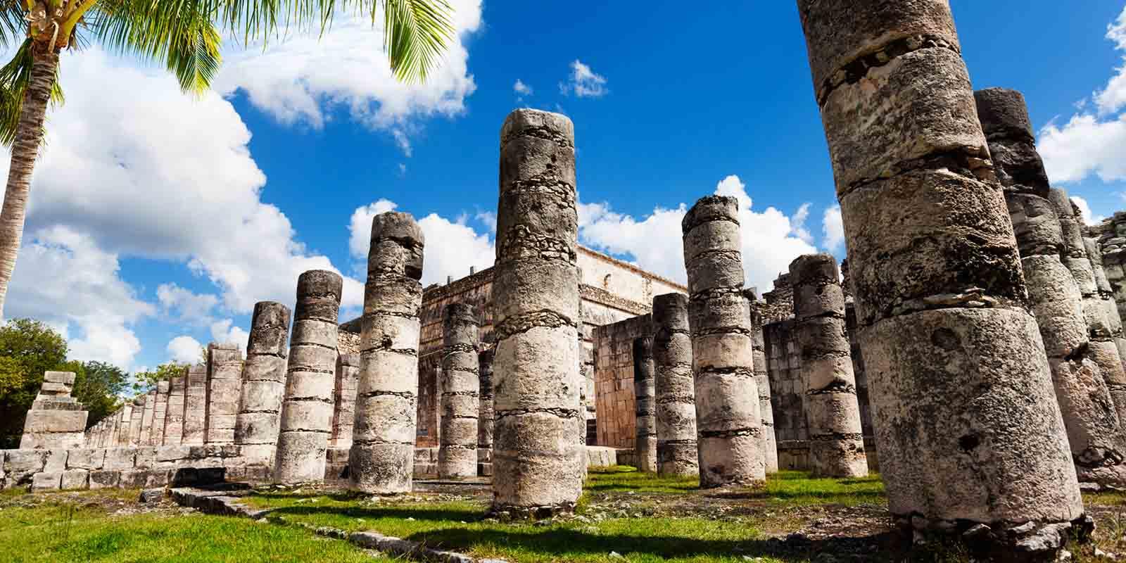 Tour Aereo Chichen Itza Templo de los Guerreros y las Mil Columnas